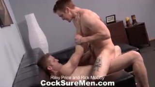 Cocksure Men Exclusives Riley and Rick