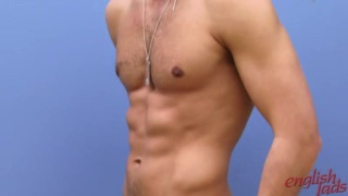 Ripped Hayden shows his body