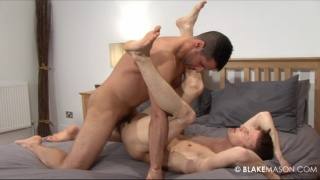 Young stud fucked by daddy