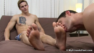 Gay men feet porn
