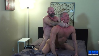 bottom fucks his top hard and gives him some payback