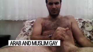 Egyptian man puts on a web cam jack-off show