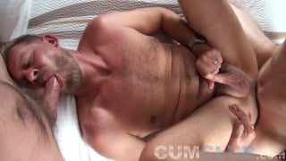 Man Warms Up Lover's Hole for Straight Skater's Raw Dick
