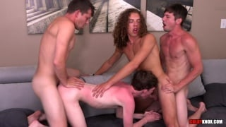 Real-Life Couple Fuck Twinks in Fourway