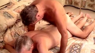 Older Couple from Palm Springs Fuck in Porn Video