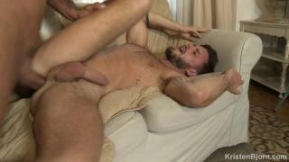 Portuguese Top with Big Dick Fucks Handsome Bearded Jock