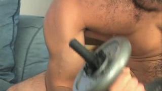Muscle Jock Naked Workout
