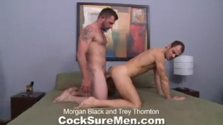 hot, hairy and hunky All-American stud fucks Brit