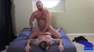 bottom loves getting drilled by an alpha top