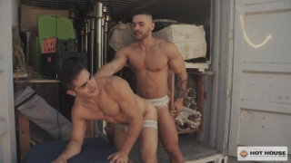 boss fucks the hired hand he finds leaning against his truck
