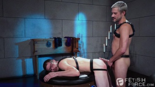 two young slave boys start playing around without their daddy