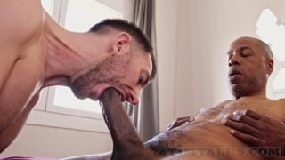 british bottom knows how to service a huge cock well