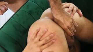 guys in a troubled relationship fuck in therapist's office