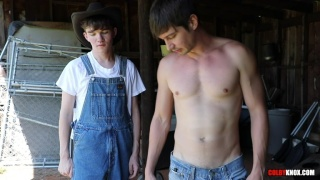 Country Boys Fucking in the Tool Shed