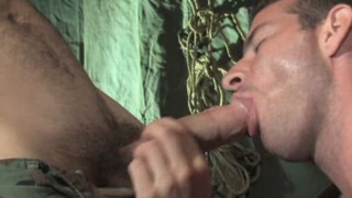 Rusty gets his eager holes penetrated