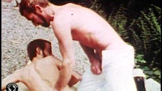 Vintage homecoming gay sex video