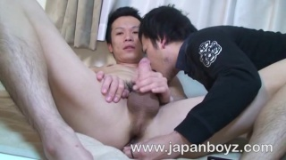 Japanese students play with sex toy