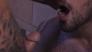 Hairy Man Piss Play