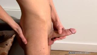 Skinny Guy Jacks Fat Cock