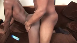 Black eager bottom gets pounded