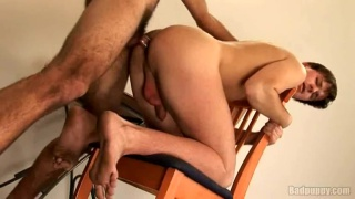 Fucked on a Kitchen Chair