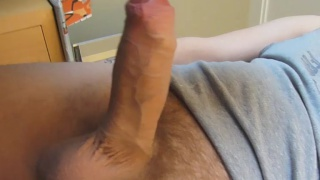 Fat Uncut Dick Stuffing Butt Hole