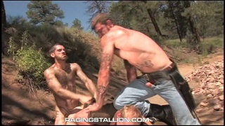 Blond Guy Roughed Up