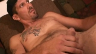 Tattooed Redneck Jerking