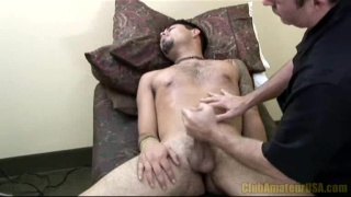 Hairy Dude Jerked Off