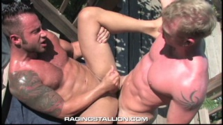 Muscle Men Fucking Outdoors