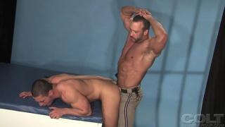 Hairy Cop Boning Butt