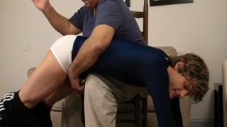 Spanked by Older Man