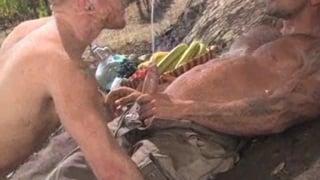 Servicing Thick Uncut Cock