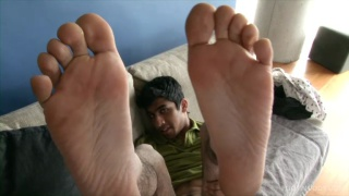 Indian Dude's Bare Feet