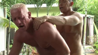 Latino Fucks Grey-Haired Daddy