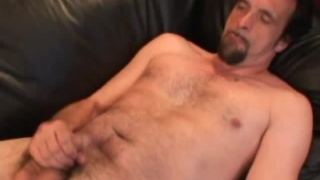 Redneck Jerks his Cock