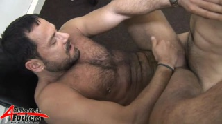 Hairy Fucker Getting Boned
