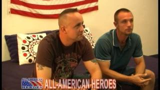 Firefighter with USMC Ryan