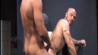 Muscular skinheads fucking hard