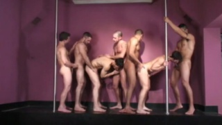 7-Man Brazilian Orgy