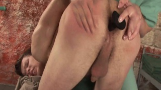 Euro Stud Spanked and Dildoed