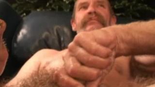 Scruffy Man Beating Off