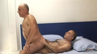 Latin Daddy Riding Cock