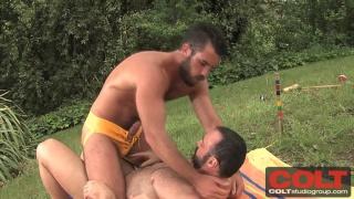 Brad Kalvo and Damien Stone