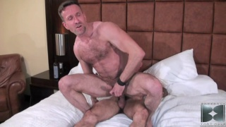 Riding Hairy Man Cock Raw