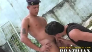 Brazilian studs having sex