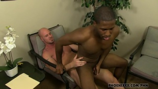 Executive Serviced by Black Stud