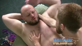 Chaser Riding Thick Bear Cock