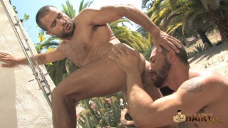 Hairy Men Fucking Outdoors