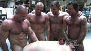 Muscle Men Bareback Cum Pig